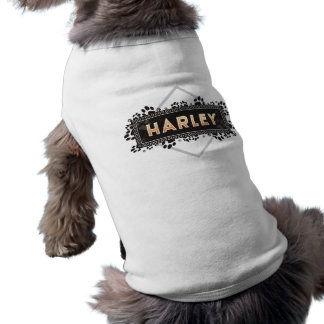 Harley - älsklings- hund tröja - svart tass