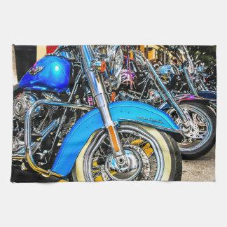 Harley Davidson motorcyklar Kökshandduk