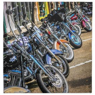 Harley Davidson motorcyklar Tygservett