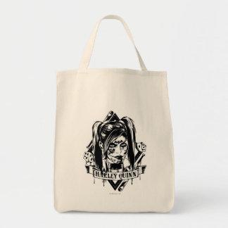 Harley Quinn emblem Tygkasse