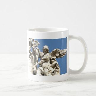Härlig ängelstaty från Florence, italien Kaffemugg