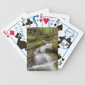 Härlig applådera flod spelkort