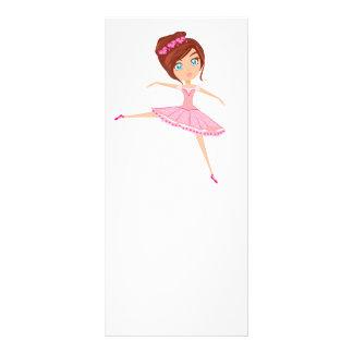 Härlig ballerina Rackcard Ställkort