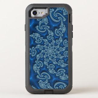 Härlig blåttFractal OtterBox Defender iPhone 7 Skal