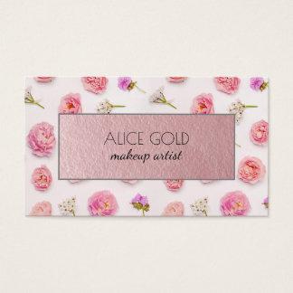 Härlig blom- ordning visitkort