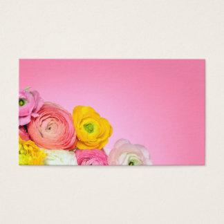 Härlig blom- sammansättning visitkort