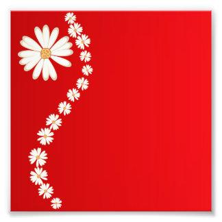 härlig blomma för bakgrundsskönhetblom fototryck