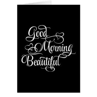 Härlig bra morgon - inspirera kort