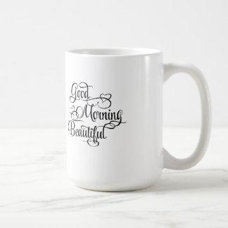 Härlig bra morgon - inspirera mugg
