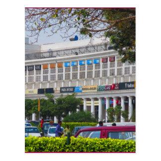 Härlig cannoughtställeNew Delhi huvudstad Indien Vykort