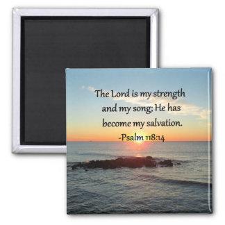Härlig design för foto för Psalm118:14soluppgång