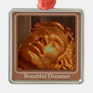 Härlig drömmare julgransprydnad metall
