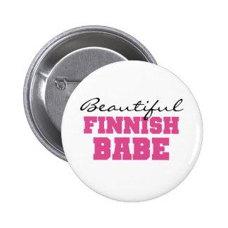 Härlig finlandssvensk Babe Knappar