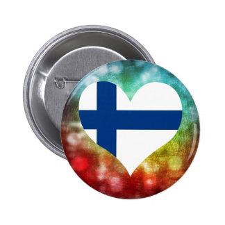 Härlig finska standard knapp rund 5.7 cm