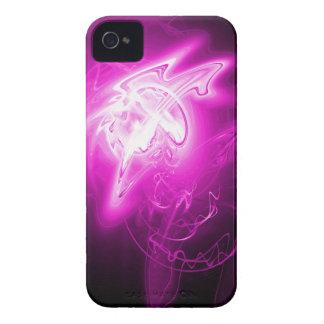 Härlig Fushcia energi Case-Mate iPhone 4 Fodraler