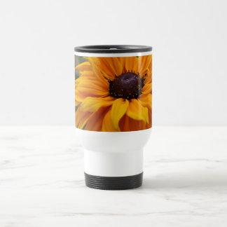Härlig gul daisy resemugg
