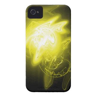 Härlig gul energi iPhone 4 Case-Mate fodraler