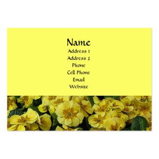 Härlig gula blommor visitkort
