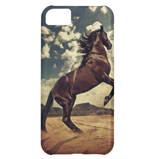 Härlig häst iPhone 5C mobil skal
