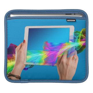 Härlig iPad vadderar vågrät iPad Sleeve