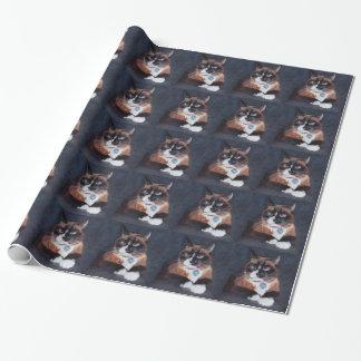 Härlig katt presentpapper