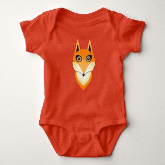 Härlig ljus orange rävpojkeromper t-shirt