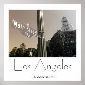 Härlig Los Angeles affisch! Poster
