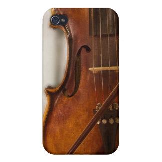 Härlig musik--Fiol iPhone 4 Skal