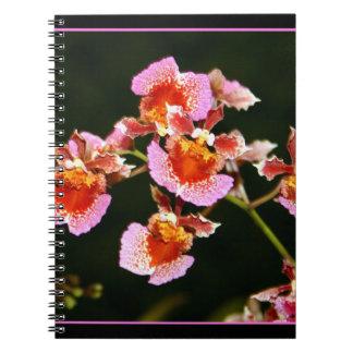 Härlig Orchidanteckningsbok Anteckningsbok