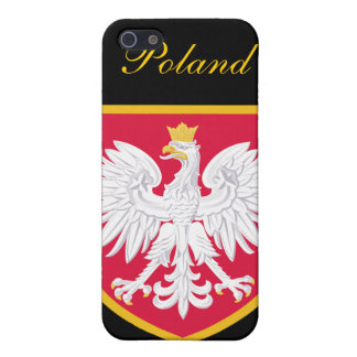 Härlig Polen flagga iPhone 5 Hud