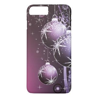 Härlig purpurfärgad juldesign