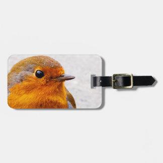 Härlig Robin bagagemärkre Bagagebricka