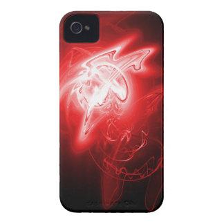 Härlig röd energi iPhone 4 Case-Mate skal