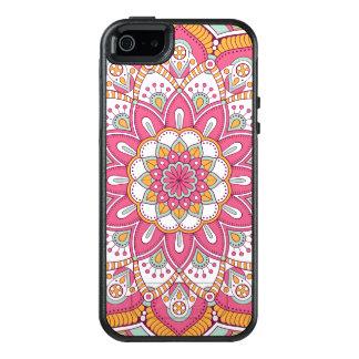 Härlig rosablommadesign OtterBox iPhone 5/5s/SE skal