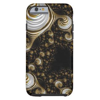 Härlig snäcka för CaramelkrämFractal Iphone6 Tough iPhone 6 Case