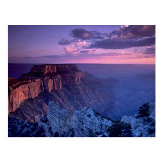 Härlig solnedgång: Grand Canyon Arizona Vykort