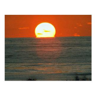 Härlig solnedgång: South Pacific Tahiti Vykort