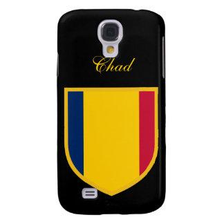 Härlig Tchad flagga Galaxy S4 Fodral