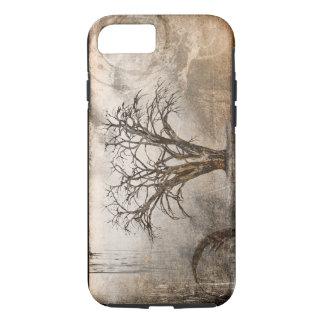 Härlig texturerad trädiphone case