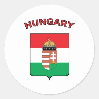 Härlig Ungern Runt Klistermärke