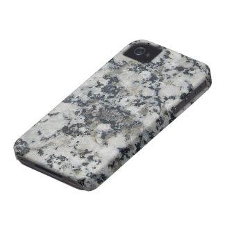 Härlig utskrivaven granit Case-Mate iPhone 4 fodral