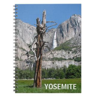 Härlig Yosemite anteckningsbok! Anteckningsbok Med Spiral