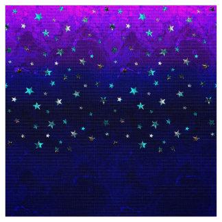 Härliga avbildar den starry galaxnatten för tyg