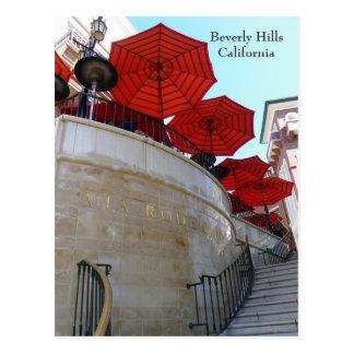 Härliga Beverly Hills vykort! Vykort