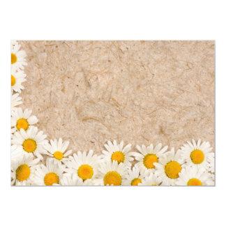 Härliga daisy 12,7 x 17,8 cm inbjudningskort