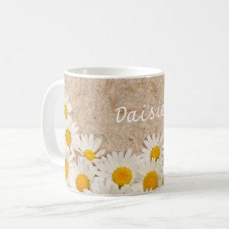 Härliga daisy kaffemugg