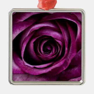 Härliga för lilaroblomma för Petals gåvor Julgransprydnad Metall