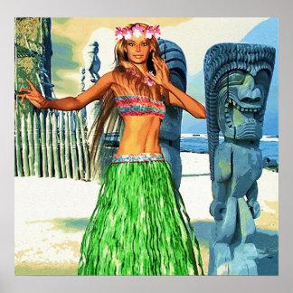 Härliga Hawaii Poster