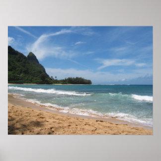 Härliga Kauai stränder Poster