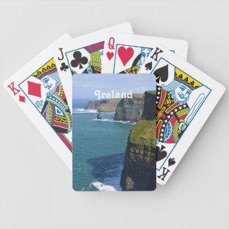 Härliga klippor av Moher Spelkort
